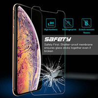 Tempered Glass For iPhone Xs Max XR XS X 8 7 6 6s Plus 5 5S ...