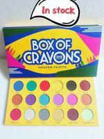 Il trucco del 2018! Più nuovo BOX OF CRAYONS Ombretto 18 colori Palette Shimmer Matte Eye shadow Pro Eyes Makeup Cosmetics spedizione gratuita DHL
