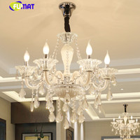 Modern Luxury LED Crystal Chandelier Ceiling Lustre de Cryst...