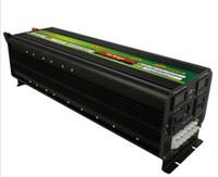 無料貨物LEDディスプレイ5000ワット10000W(ピーク)12V / 24V~220V 230V電力インバータ+バッテリーチャージャーUPS LLFA
