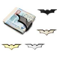 122 × 32 مم بات الشكل المال كليب المغناطيسي الطي حامل البطاقة المعدنية المحفظة النقدية كليب للرجل