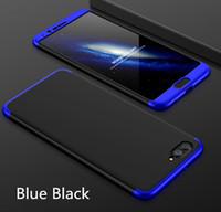 Per Huawei Honor V9 Cassa Del Telefono Cellulare 3-In-1 360 Gradi Full Body Antiurto Armatura Hard Cover Posteriore Smart Per Huawei Honor V9