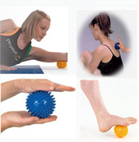Body Massager, Spiky Point Massage Ball Roller Reflexology S...