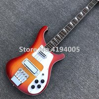 Factory 4003 Electric Bass Guitar in red color, High quality ...