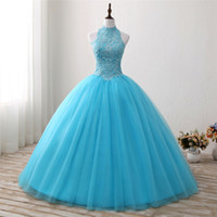 2018 New Arrived Real Photo Sexy Backless Crystal Ball Gown ...
