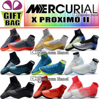 Mens High Top Indoor Soccer Shoes Cristiano Ronaldo Mercuria...