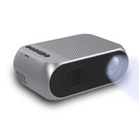Proyector de video portátil LCD Mini proyector Soporte HD 1080P Multimedia Cine en casa Proyector de cine Ideal para fiestas / juegos / programas de TV / campamentos