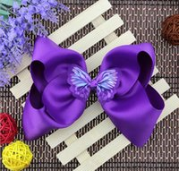 New Hot 8 inch JOJO large bow hairpin children' s hair a...