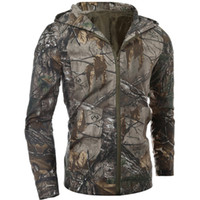 Camouflage Outwear Men' s Tactical Jacket Shell Lurker W...