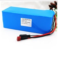 Keine Steuer 36V 6ah 500W 18650 Lithium-Batterie 36V 6AH elektrische Fahrradbatterie mit PVC-Fall für Elektro-Fahrrad 42V 2A Ladegerät