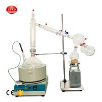 Fast Shipping ZZKD 20L Laboratório de Suprimentos Adequado para Enriquecimento cristalização secagem Separação Curto equipamento de destilação de óleo essencial