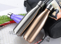 Stainless Steel Thermos 500ml Vacuum Water Bottle cola shape...