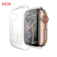 Para Apple Watch Series 4 PC Hard Case Transparente Cobertura Completa Protetora Shell Para iWatch 1/2/3