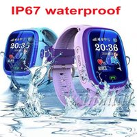 IP67 wasserdicht DF25G GPS Kinder Smart Watch Phone Swim Smartwatch SOS Lage Geräte Tracker Kids Safe Anti-Verlorener Baby-Monitor