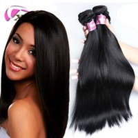 xblhair straight human hair extensions cheap virgin hair bun...