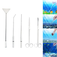 Stainless Steel Aquarium Aquascaping Kit Aquarium Tank Aquat...