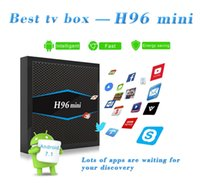 Android tv box H96 mini Quad Core 2GB 16GB Amlogic S905W 2. 4...