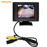 Jeu de voiture Digital 2.5inch détachable RCA Vue vidéo TFT LCD Monitor pour la caméra de stationnement de stationnement de DVD # 1365