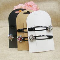 New Hair Clip Card1LOT 50 Cards Jewelry Display Card New Sty...