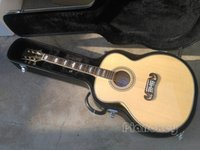 Hot selling Nature AAA solid spruce top J200 acoustic guitar...