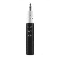 Wireless Bluetooth Kit Audio Ricevitore Vivavoce 3.5mm Jack Aux Auto Musica per auto per la casa Sistema stereo Auto