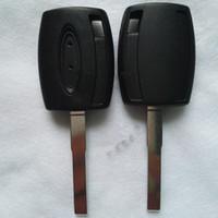 استبدال حالة مفتاح السيارة شل لفورد التركيز باقة مفتاح شل HU101 بليد أي شعار متاح ل TPX2