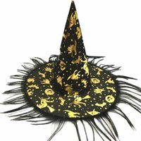 2018 halloween Halloween Hat Witch Hat Fancy Dress Party Cos...