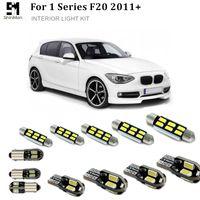 Shinman 14pcs 자동차 LED 실내 조명 키트 오류 무료 자동차 LED 전구를 들어 BMW의 F20 액세서리 2011+ 주도 인테리어 조명