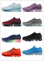 2018 Vapormax Mens Running Shoes Hot Mesh Upper Sneakers Wom...