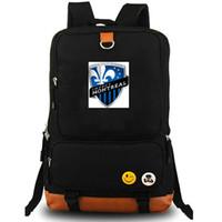 Montreal Rucksack تأثير أكاديمية Daypack كندا نادي كرة القدم المدرسية حقيبة Soccer Packsack Team Backpack حقيبة كمبيوتر محمول