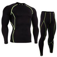 YANQIN New Compression Fitness Tight Sets T- shirt And Jogger...