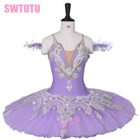 Child Lilac Sleeping Beauty Professional Ballet Tutu for Wom...