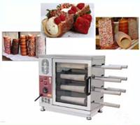 Popüler Macaristan baca kek fırın ticari otomatik elektrikli baca rulo kek fırın ekmek rulo makinesi 110 v 220 v LLFA