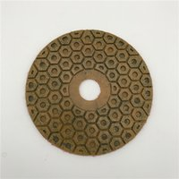 Diamond Metal Polishing Pad 6 inch (150 mm) for Granite Conc...
