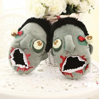 zombie slippers WINTER COTTON SHOES high quality Indoor Hous...