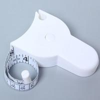 Maßnahmen messen genaue Ernährung Fitness-Bremssattel-Messkörper-Taille-Bandmesser
