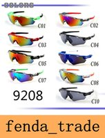 Cylcing Fishing Sunglasses 10 colors 9208 New Fashion Design...