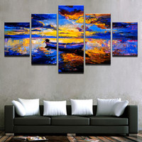 Canvas HD Prints Pictures Living Room Home Decor Framework 5...