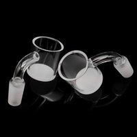 30mm OD Beveled Edge Quartz Banger with Opaque Bottom Gavel ...