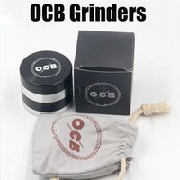 OCB Grinders High Quality 4 Layer Herb Grinder Aluminium All...