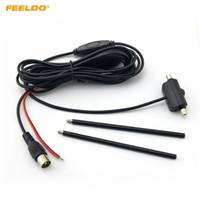 FEELDO-Auto-IEC-Stecker-aktive Antenne mit eingebautem Verstärker für Digital-TV-Autoantenne # 911