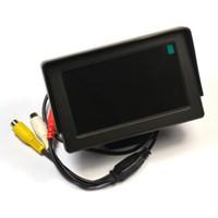 Freeshipping 4.3 inç TFT LCD Ses Video Güvenlik Test CCTV Kamera Test Monitörü