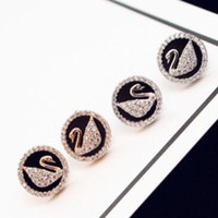 2018 brand design popular ladies earrings Creative S925 silv...