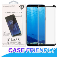 Case Friendly Tempered Glass For Samsung Galaxy Note 9 S9 S8...