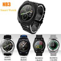 Fashinoal NB3 스마트 시계 지원 MP3 심박 측정기 Bluetooth 4.0 MTK2502 Android iOS Smartphone 용 128M + 64M 착용 식 Smartwatch