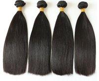 100% человеческие волосы высокого качества прямые двойные нарисованные сырые девственные волосы 1 пучок