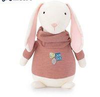 3 teile / los Plüsch Kuscheltier Cartoon Kinder Spielzeug für Mädchen Kinder Baby Geburtstag Weihnachtsgeschenk Lamm Kaninchen Hund Puppe