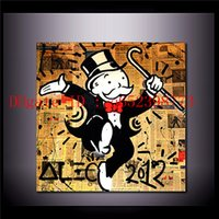 Alec Monopoly - 16, Home Decor HD Printed Modern Art Painting ...