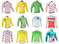 Nueva Tour de Francia de carreras de bicicletas de manga larga camisa ropa  ciclismo jersey de fa1d316fb