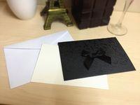 All'ingrosso 100 pezzi / lotto di stampa laser taglio 2020 carte di invito di nozze con bow hollow wedding bomboniere